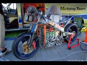 Kingston University TTXGP bike without Pastic
